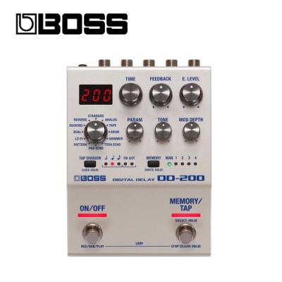 BOSS DD-200 數位延遲效果器
