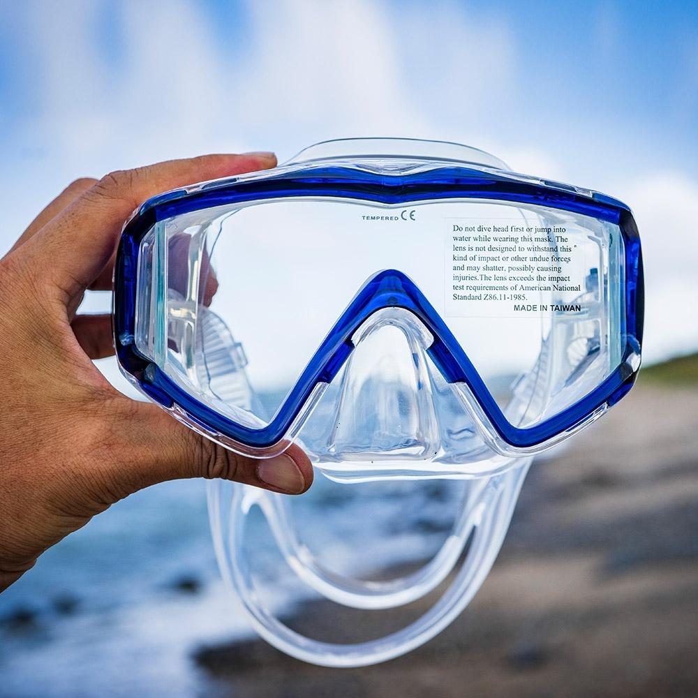 AROPEC  大視野三面鏡Knight HF9騎士.浮潛面鏡蛙鏡 潛水面鏡蛙鏡