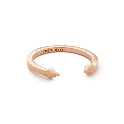 VITA FEDE義大利時尚珠寶精品 Mini Titan迷你泰坦玫瑰金戒指