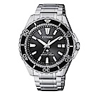 CITIZEN 星辰PROMASTER 深海潛水運動流線腕錶/200米/BN0190-82