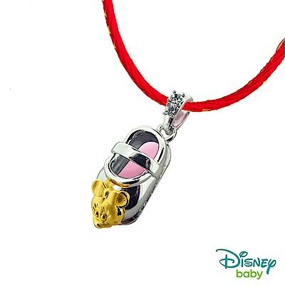 Disney迪士尼系列金飾 黃金/白鋼墜子-童鞋美妮款 送項鍊