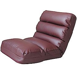 文創集 夏米加厚皮革多功能和室椅(二色+展開式機能設計)-55x100x15cm免組