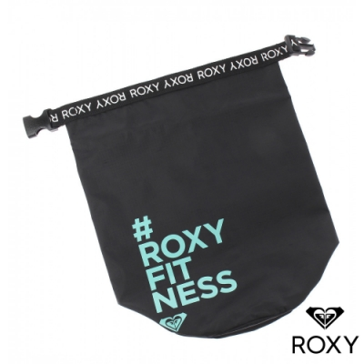 【ROXY】CHOOSE ME 防水圓桶包 藍綠色