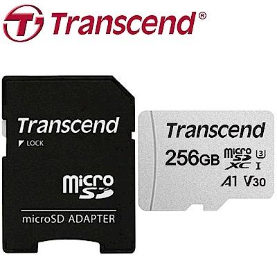 Transcend 創見 256G U3 microSDXC A1 V30 300S記憶卡