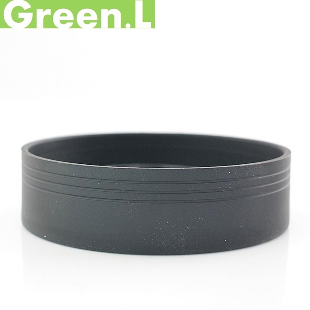 Green.L橡膠可伸縮 廣角標準望遠三用49mm遮光罩 三折遮光罩G3LH49 螺口螺牙螺紋遮光罩lens hood