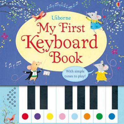 My First Keyboard Book 我的第一本鋼琴音樂書