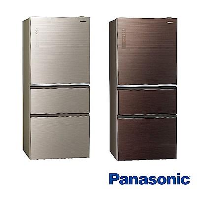 [無卡分期-12期]國際牌 610L 1級變頻3門電冰箱 NR-C610NHGS