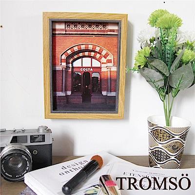 TROMSO品味時代-傑克木紋雙色6X8相框-原木紋