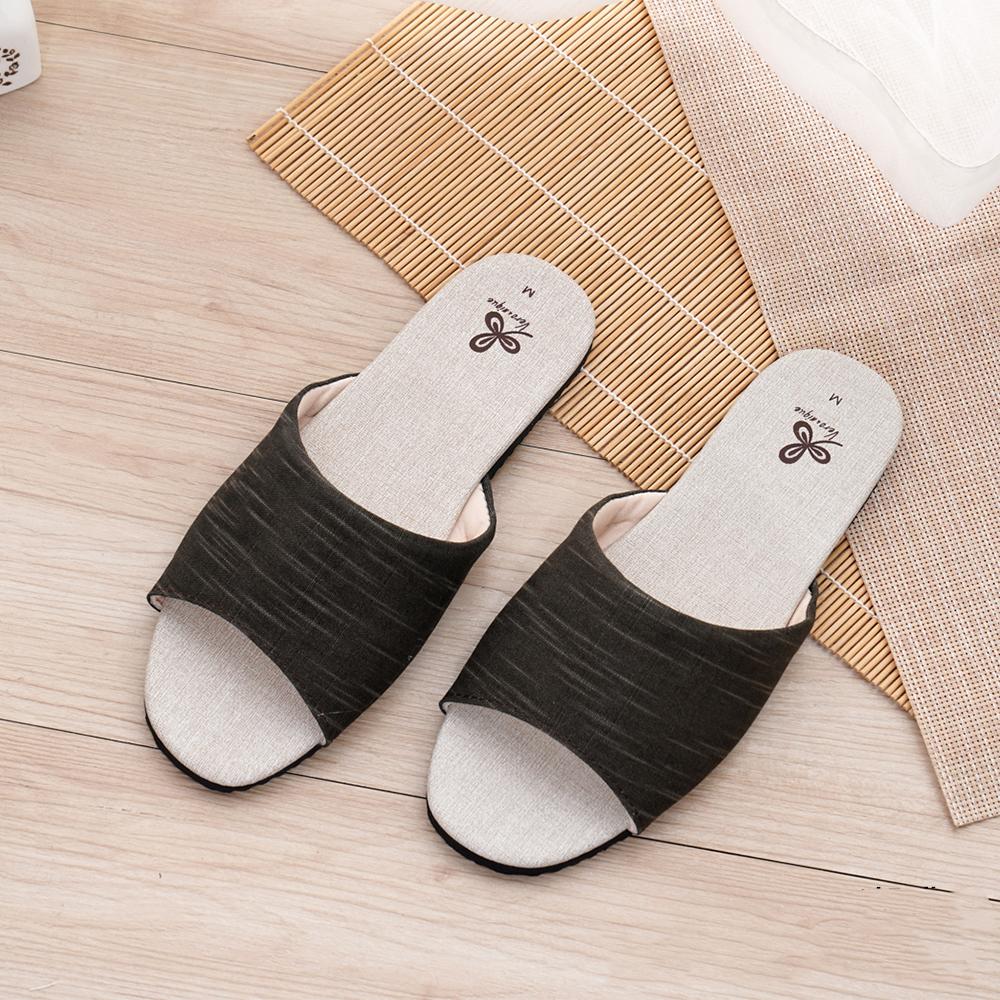 維諾妮卡 霧感色調家居室內拖鞋-咖啡