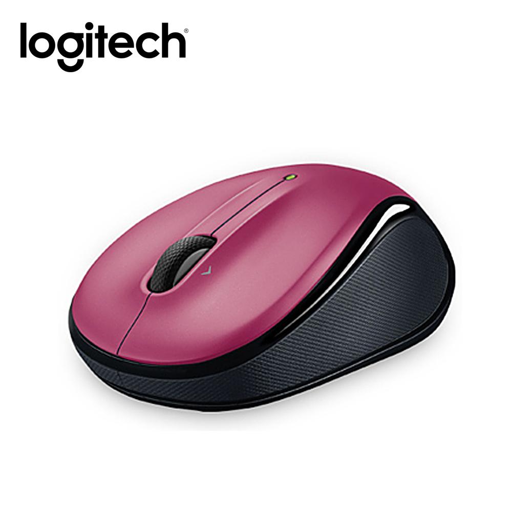 羅技無線滑鼠M325 (玫瑰紅)