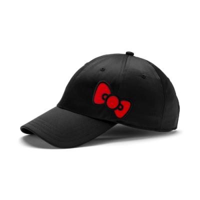 PUMA-女性PUMA x HELLO KITTY棒球帽-黑色