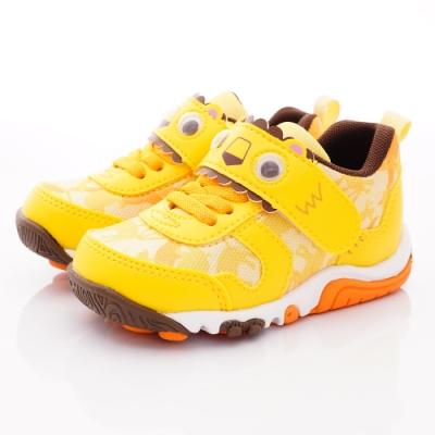 日本Carrot機能童鞋 玩耍速乾公園鞋款 TW2473黃(中小童段)