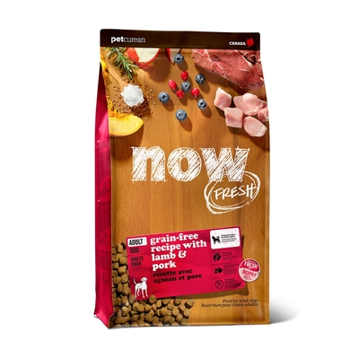 Now! 紅肉無穀天然糧 中型犬配方 3.5磅