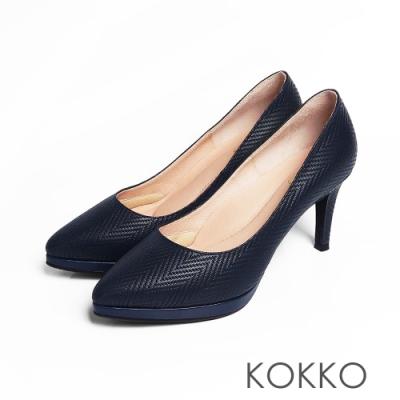 KOKKO - 美麗心計尖頭女王高跟鞋 - 莫藍迪