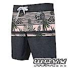 WAXX 衝浪系列-亞熱帶雙色拼接快乾型男衝浪褲(17英吋)