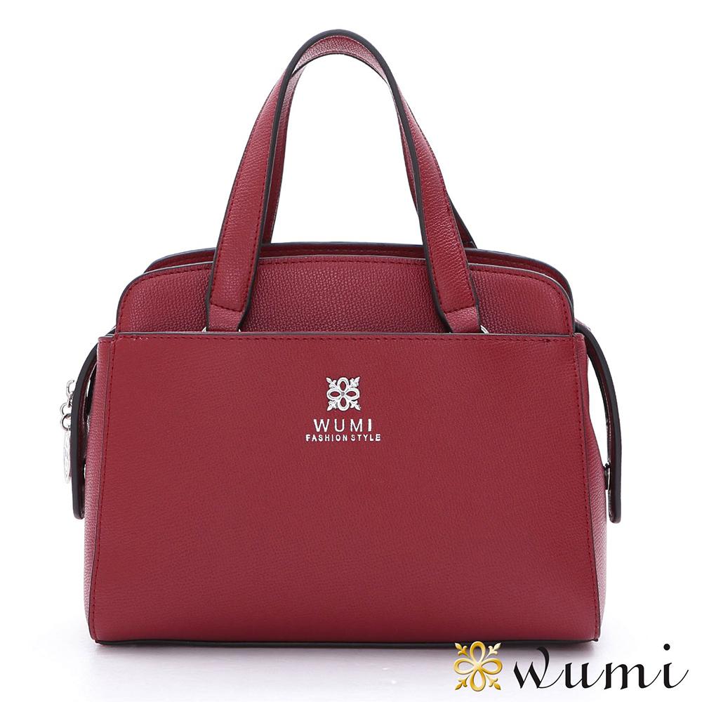 WuMi 無米 羅琳亞極簡手提包 玫瑰紅