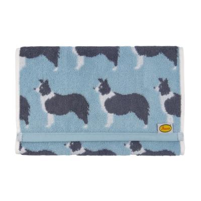 日本丸真 Anorak英倫設計款毛巾-牧羊犬