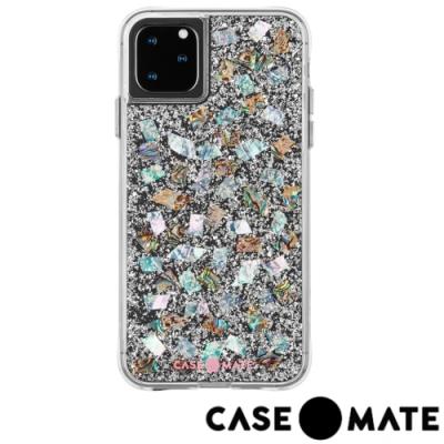 美國 Case-Mate iPhone 11 Pro Karat 防摔手機保護殼-貝殼銀箔