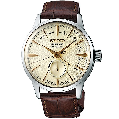 SEIKO精工 Presage 調酒師限量動力顯示機械錶(SSA387J1)