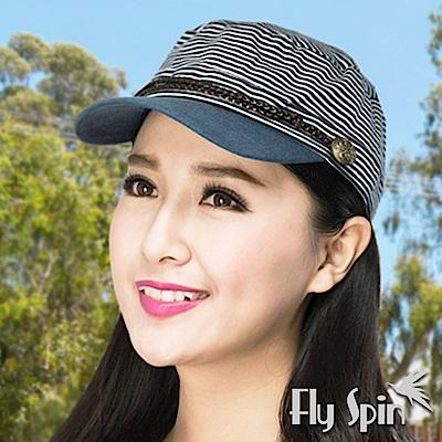 FLYSPIN 全棉針織布時尚運動平頂帽