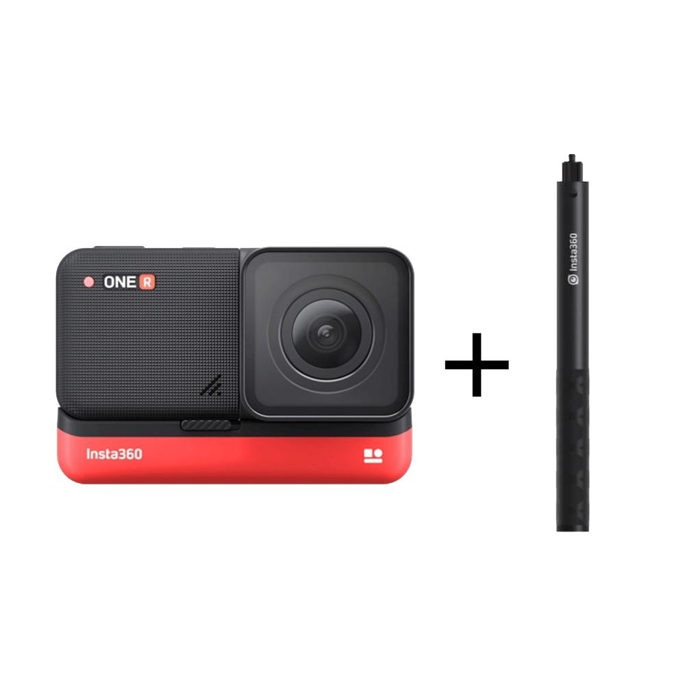 Insta360 ONE R 4K廣角 運動攝影機+隱形自拍桿(先創公司貨)
