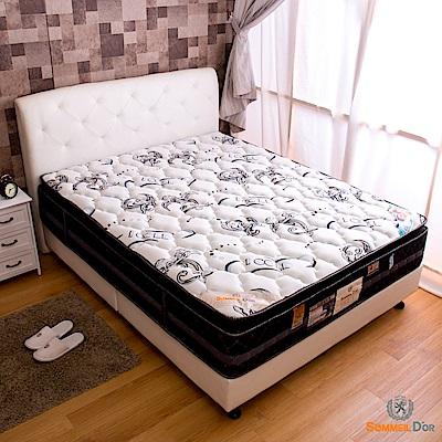 思夢樂-水冷紗正三線雙人加大6尺獨立筒床墊