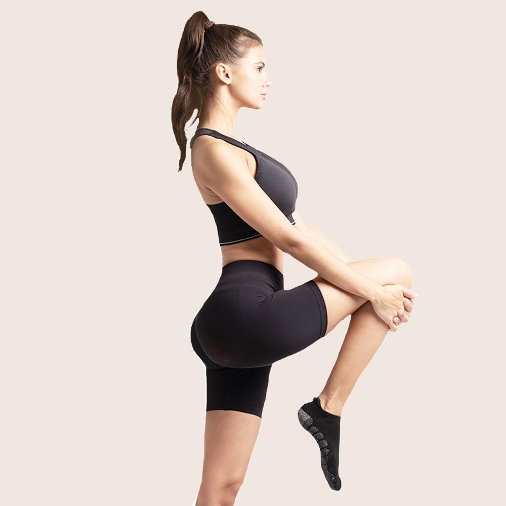 澳洲 YPL 心機蜜桃臀短褲 舒適透氣收腰提臀 素面無字款
