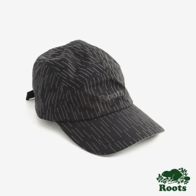 ROOTS配件   雨絲反光棒球帽-黑