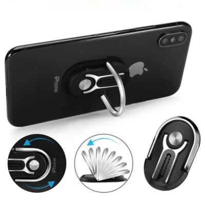【HICUCOO】多功能手機指環支架(車上桌上都可使用)
