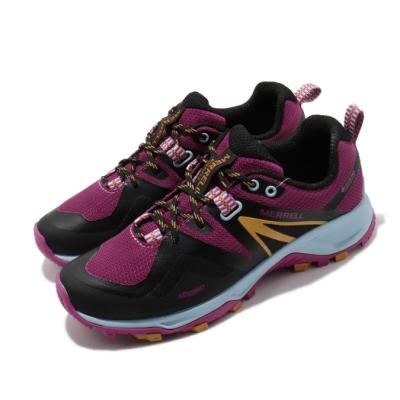 Merrell 戶外鞋 MQM Flex 2 GTX 女鞋 登山 越野 防潑水 穩定 膠底 黑 紫 ML034956