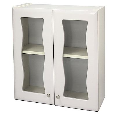 Aaronation 時尚塑鋼雙開門浴櫃 GU-C1007