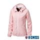 K-SWISS Solid Fleece Jacket刷毛防風外套-女-粉紅 product thumbnail 1