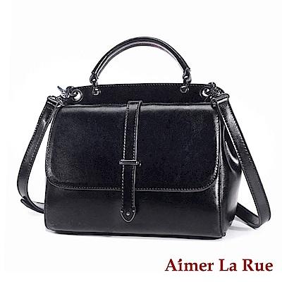 Aimer La Rue 側背斜背包 雙面牛皮布里斯系列(三色)