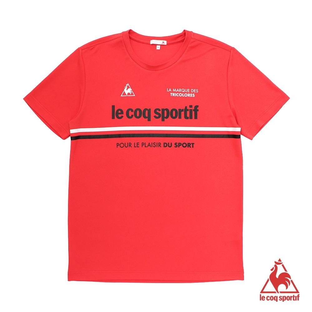 法國公雞牌短袖T恤 LON2012775-男-紅