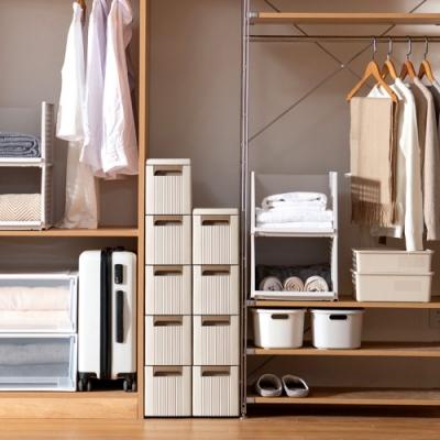【AOTTO】日系質感18面寬多功能四層夾縫櫃 收納櫃(廚房 衛浴 客廳 房間)