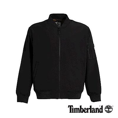 Timberland 男款黑色軟殼針織夾克|A1WXM