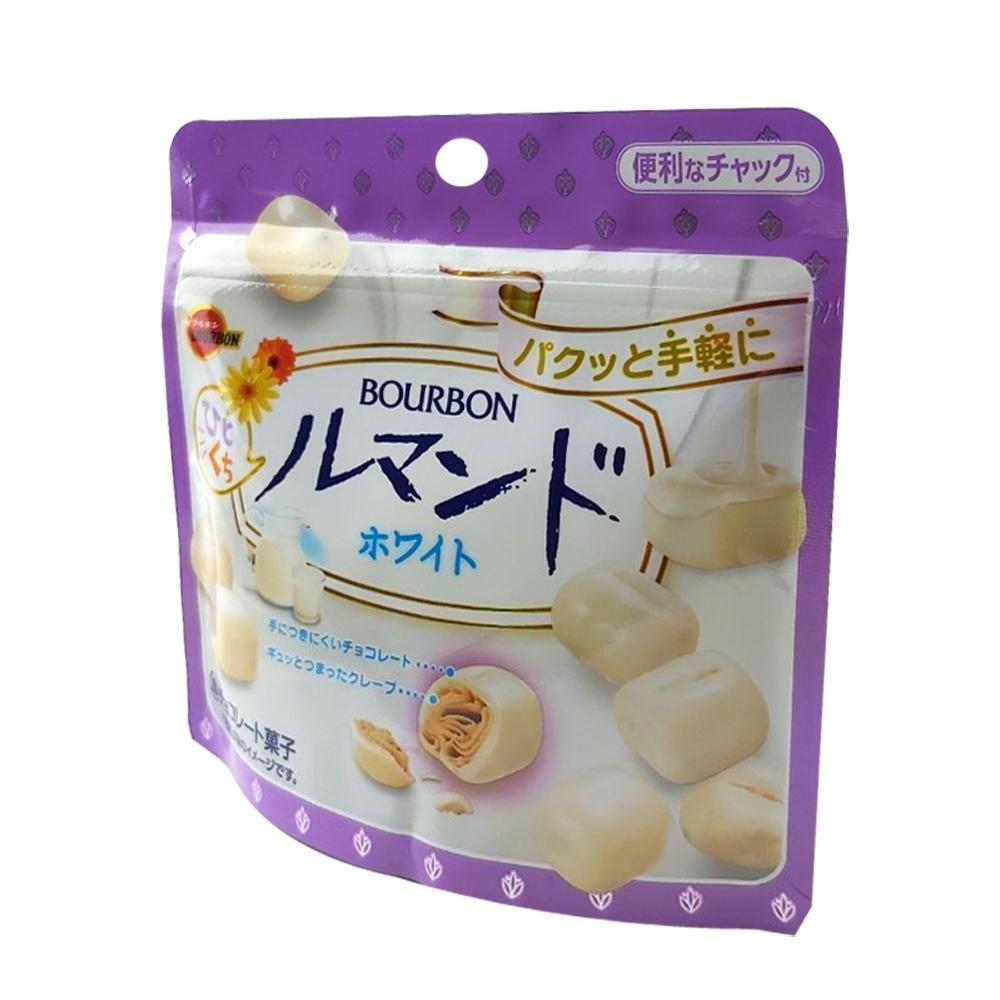 Bourbon北日本 白巧克力風味脆餅(47g)