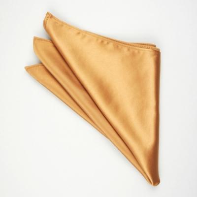 Laifuu拉福,純色西裝口袋巾裝飾新郎晏會(香檳金)
