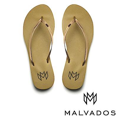 【Malvados 魅凡朵】時尚女性人字拖 Lux 萊絲《軍校生》