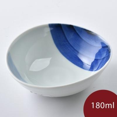 康創陶 和食器 前菜碗 藍深藍淺 180ml