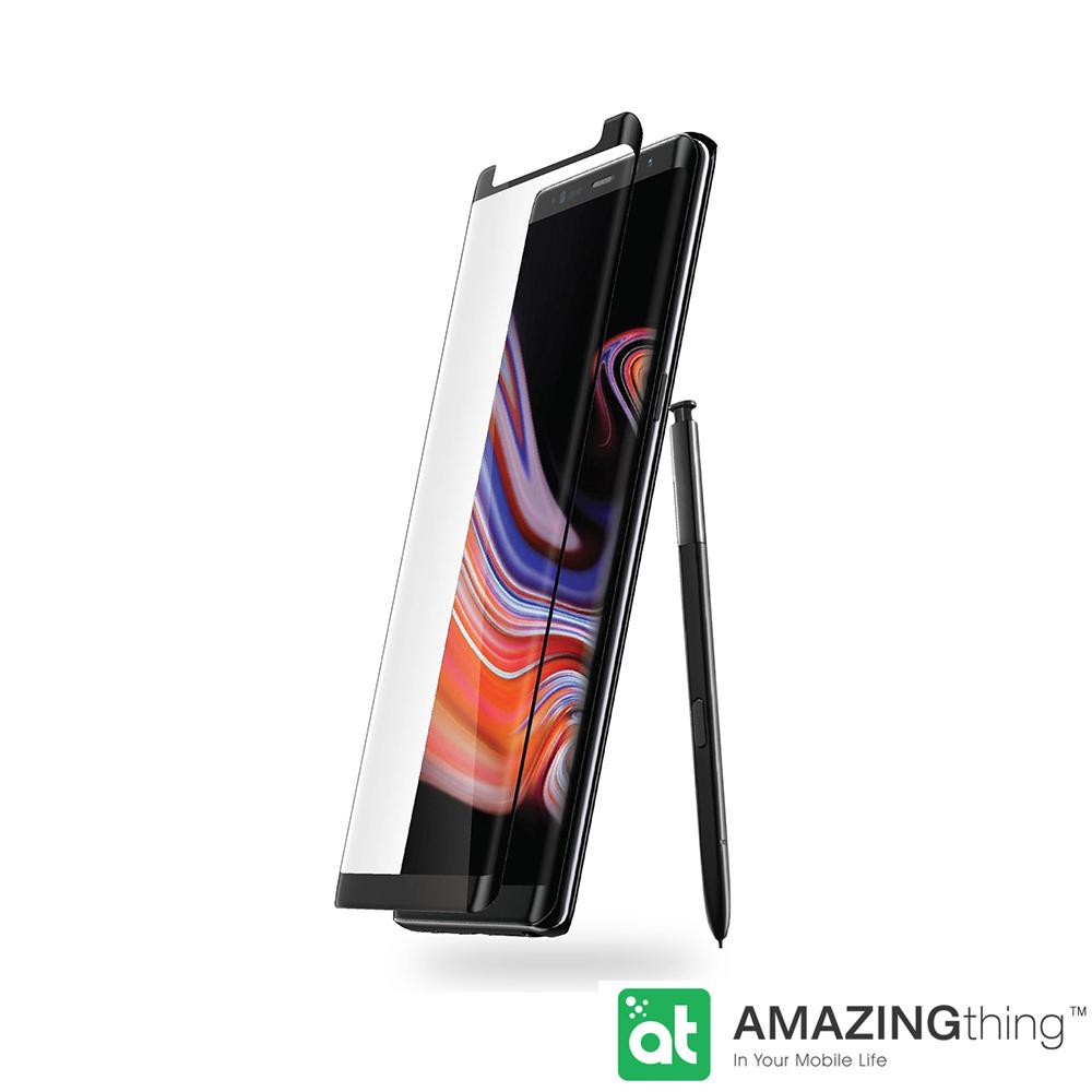 AmazingThing 三星 Galaxy Note 9 滿版強化玻璃保護貼(U型邊)