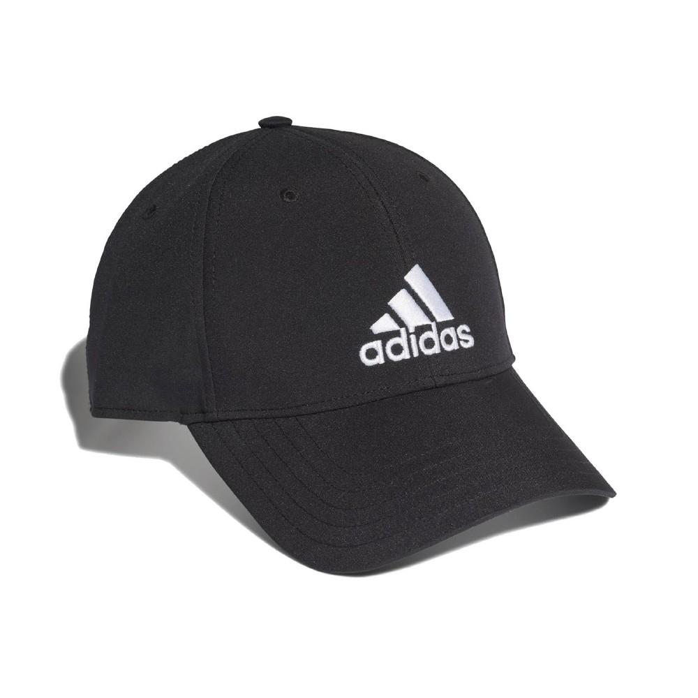adidas 帽子 Baseball Cap 運動休閒 男女款 愛迪達 棒球帽 遮陽 穿搭 帽圍可調 黑 白 FK0898