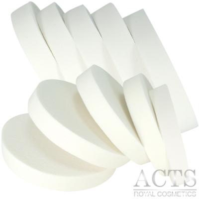 【滿千8折】ACTS 維詩彩妝 乳膠海綿 大圓化妝海綿 10片入