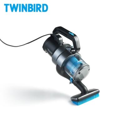 【福利品】日本Twinbird強力手持斜背兩用吸塵器HC-EB51TW