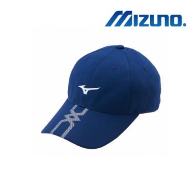 MIZUNO 美津濃 運動路跑帽 深藍 J2TW950014P