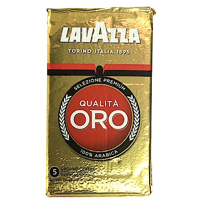 LAVAZZA QUALITA ORO 金牌咖啡粉(真空鋁箔包3包)