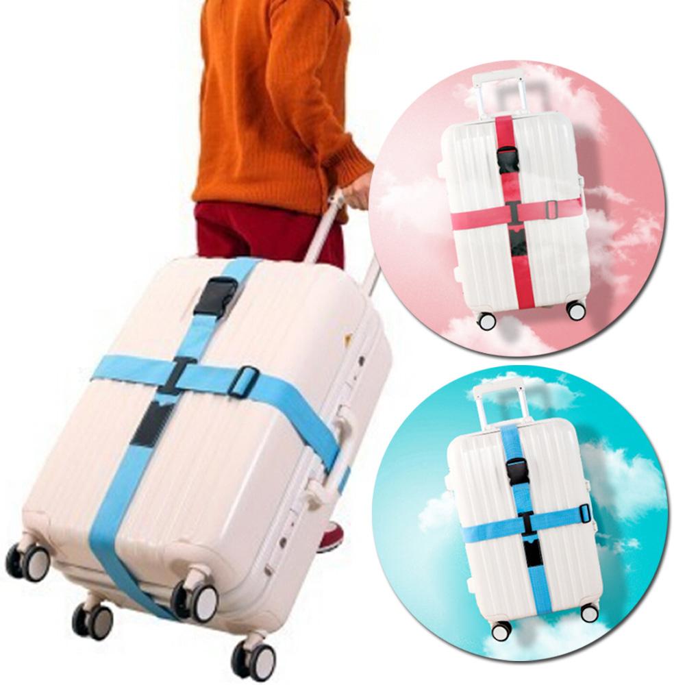 E-dot 多功能十字收納加厚行李箱捆箱帶(2色)