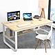 【Incare】高質感-鋼木多用收納工作電腦桌(100公分/2色可選)