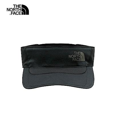 The North Face北面男女款黑色吸濕排汗運動帽|2SBTJK3