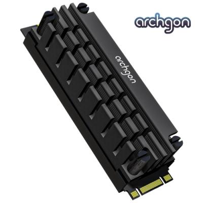 archgon亞齊慷 M.2 2280 SSD 散熱片組 HS-1110-K(黑)